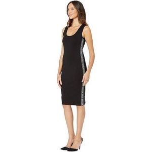 Michael Kors Women's Dress Black Logo Stripe